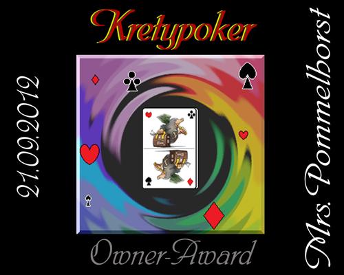 Pokerkrety-Award